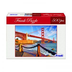 168 – 500pc Frank Puzzle Golden Gate Bridge