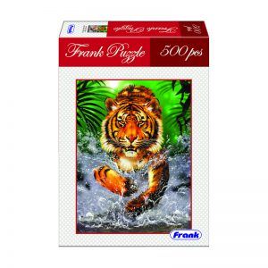 168 – 500pc Frank Puzzle Running Tiger