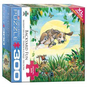 172 – 300pce Oversized Family Puzzles 8300-5367 Backyard Fun