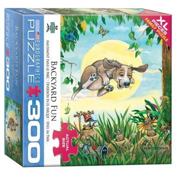 172 – 300pce Oversized Family Puzzles 8300-5367 Backyard Fun