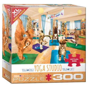 172 – 300pce Oversized Family Puzzles 8300-5453 Yoga Studio
