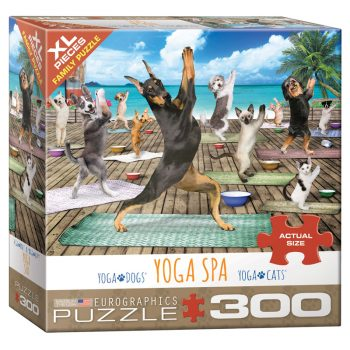 172 – 300pce Oversized Family Puzzles 8300-5454 Yoga Spa