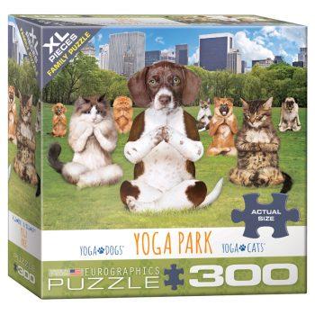 172 – 300pce Oversized Family Puzzles 8300-5455 Yoga Park