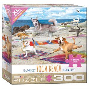 172 – 300pce Oversized Family Puzzles 8300-5456 Yoga Beach