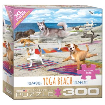 172 – 300pce Oversized Family Puzzles 8300-5456 Yoga Beach
