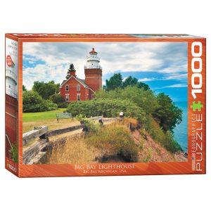 173 – 1000pce Puzzles 6000-0551 Big Bay Lighthouse Michigan