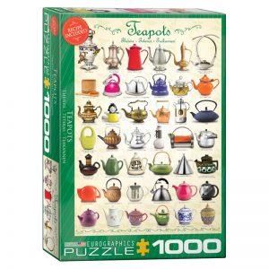 173 – 1000pce Puzzles 6000-0599 Teapots