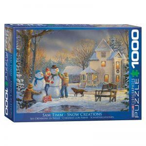 173 – 1000pce Puzzles 6000-0607 Snow Creations