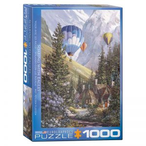 173 – 1000pce Puzzles 6000-0630 Soaring With Eagles