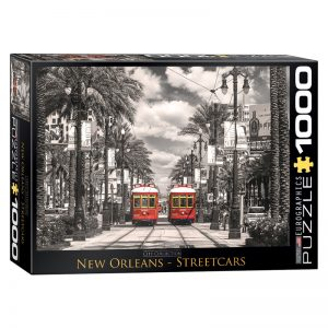 173 – 1000pce Puzzles 6000-0659 New Orleans Street Cars