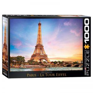 173 – 1000pce Puzzles 6000-0765 Paris La Tour Eiffel