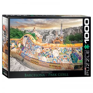 173 – 1000pce Puzzles 6000-0768 Barcelona Park Guell