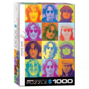 173 – 1000pce Puzzles 6000-0807 John Lennon Colour Portraits