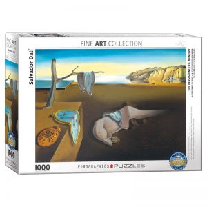 173 – 1000pce Puzzles 6000-0845 The Persistence Of Memory