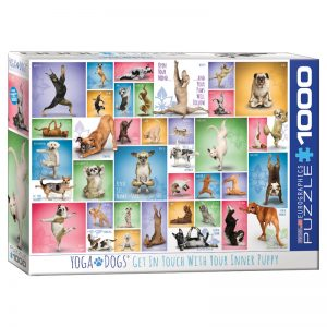 173 – 1000pce Puzzles 6000-0954 Yoga Dogs