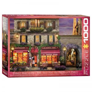 173 – 1000pce Puzzles 6000-0963 The Red Hat Restaurant Paris