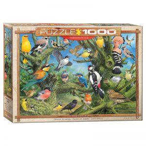 173 – 1000pce Puzzles 6000-0967 Garden Birds