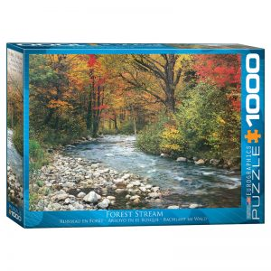 173 – 1000pce Puzzles 6000-2132 Forest Stream