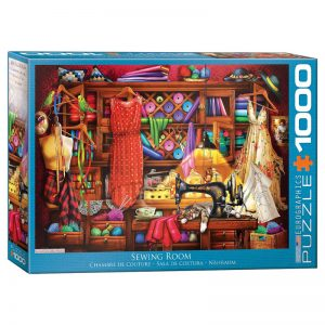 173 – 1000pce Puzzles 6000-5347 Sewing Room