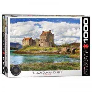 173 – 1000pce Puzzles 6000-5375 Eilean Donan Castle Scotland
