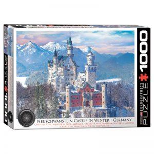 173 – 1000pce Puzzles 6000-5419 Neuschwanstein Castle In Winter