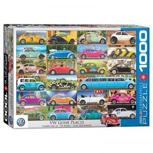 173 – 1000pce Puzzles 6000-5422 VW Beetle Gone Places