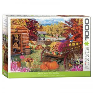 173 – 1000pce Puzzles 6000-5424 Autumn Garden