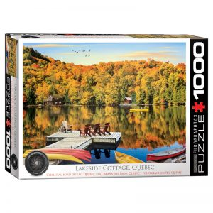 173 – 1000pce Puzzles 6000-5427 Lakeside Cottage Quebec