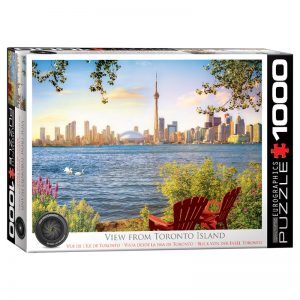 173 – 1000pce Puzzles 6000-5434 View From Toronto Island