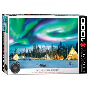 173- 1000pce Puzzles 6000-5435 Northern Lights