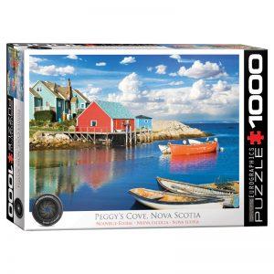 173 – 1000pce Puzzles 6000-5438 Peggy's Cove Nova Scotia