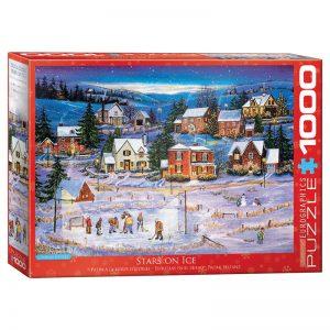 173 – 1000pce Puzzles 6000-5440 Stars On Ice