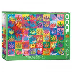173 – 1000pce Puzzles 6000-5488 Weed Wonderland