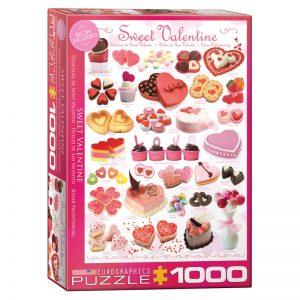 173 – 1000pce Puzzles 6000-0431 Sweet Valentine