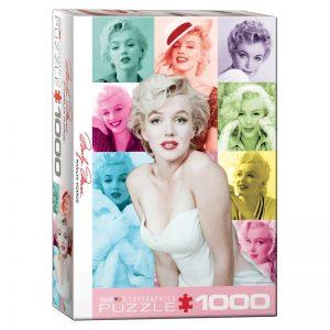 173 – 1000pce Puzzles 6000-0811 Marilyn Monroe Colour Portraits