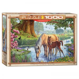 173 – 1000pce Puzzles 6000-0976 The Fell Ponies