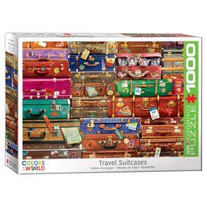 173 – 1000pce Puzzles 6000-5468-Travel-Suitcases