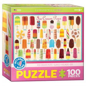 175b – 100pce Puzzle 6100-0520 Ice Cream Pops