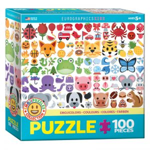 175b 100pce Puzzle 6100-5396 Emoji Colours