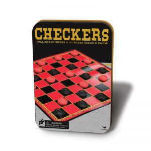 74b Checkers/Draughts In Tin