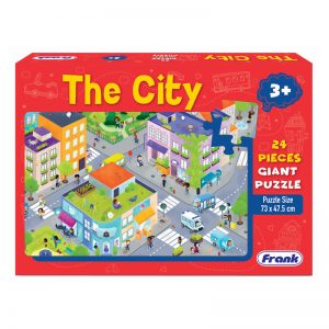 143a – Giant Floor Puzzle City