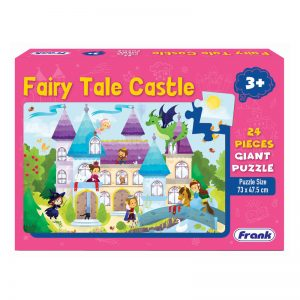 143b – Giant Floor Puzzle Fairy Tale Castle