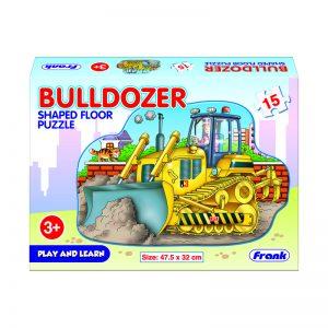 147f – Big 15pc Bulldozer Floor Puzzle