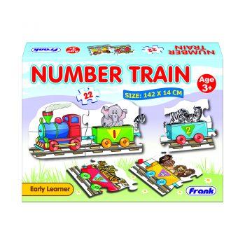 148 – Number Train Floor Puzzle