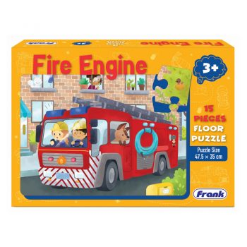 152a – 15pc Floor Puzzle Fire Engine