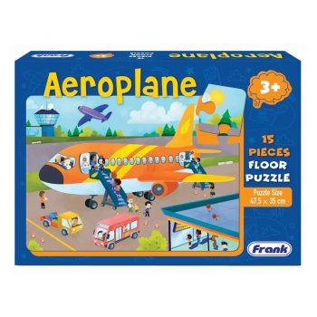 152b – 15pc Floor Puzzle Aeroplane