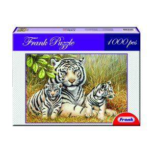 170 – 1000pc Frank Puzzle White Tiger