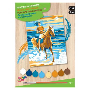 309a – Junior Paint By Numbers Horse Rider