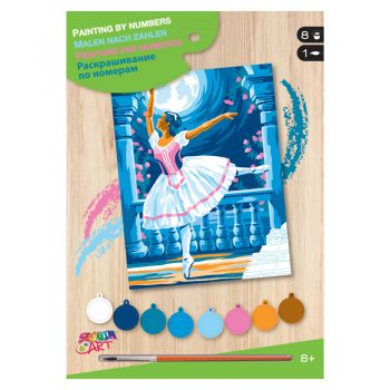 309a – Junior Paint By Numbers Ballerina