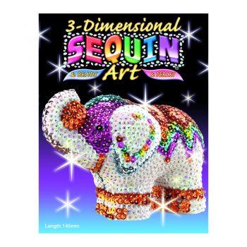 310 – 3D Sequin Art Elephant